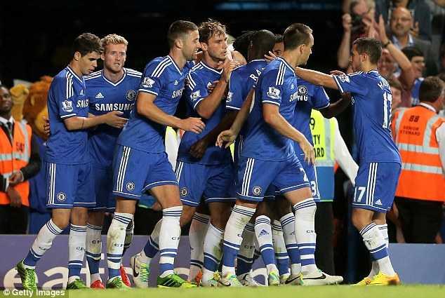 Chelsea lên ngôi số 1