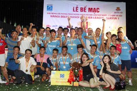 Thành Đồng trở thành nhà vô địch đầu tiên của Ngoại hạng phủi