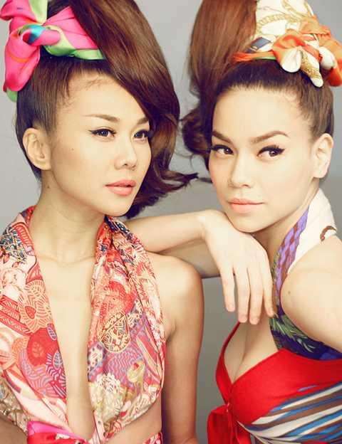 Hai chân dài đình đám của showbiz sẽ đảm nhận vai trò giám khảo của Miss Ngôi Sao 2013