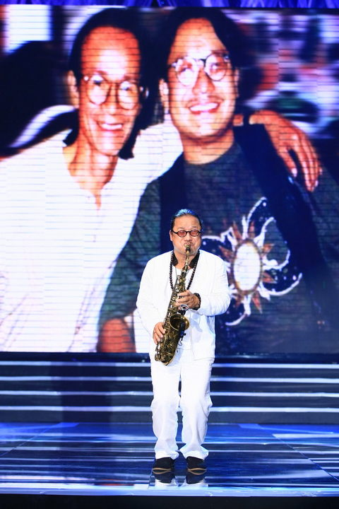 Trần Mạnh Tuấn chọn ca khúc 'Hạ Trắng' để giới thiệu ngay đến khán giả tấm chân tình mà anh dành cho cố nhạc sỹTrịnh Công Sơn - Ảnh: Phạm Thế Danh