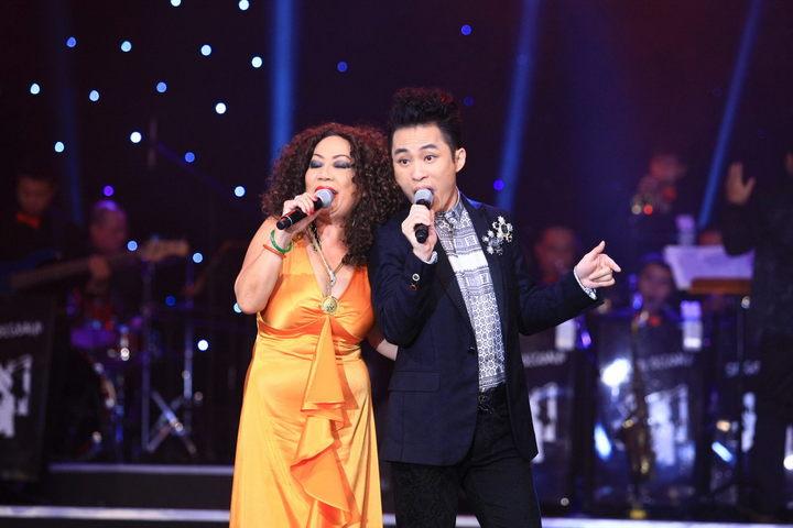Sự kết hợp giữa 'Diva' và 'Divo' nhạc Jazz Tuyết Loan và Tùng Dương.