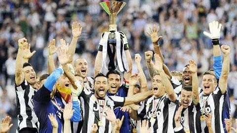 Nếu bảo vệ thành công chức vô địch, Juve sẽ được thưởng 13,05 triệu euro
