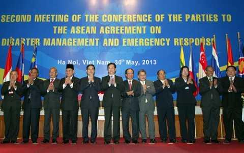 Thủ tướng Nguyễn Tấn Dũng và các Bộ trưởng, Trưởng đoàn 10 nước ASEAN tham dự hội nghị COP 2.