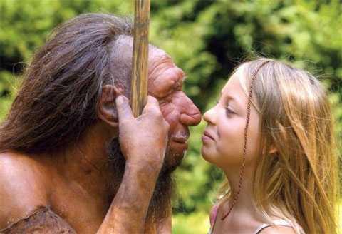 Người Neanderthal có thể đã giao phối khác giống với người hiện đại trong thời gian cùng chung sống ở châu Âu. Ảnh minh họa: Live Science