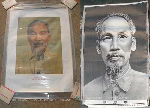 Những hình ảnh, tư liệu quý về Bác Hồ, về   Việt Nam hiện vẫn được lưu giữ trong gia đình Lục Tiểu Linh Đồng. Ảnh do   chính ông chụp lại và ghi rõ quyền tác giả thuộc về Chương Kim Lai (Lục   Tiểu Linh Đồng).