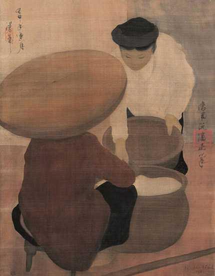Tác phẩm của họa sỹ Nguyễn Phan Chánh đã lập kỷ lục giá mới