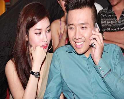 Trấn Thành và bạn gái hotgirl