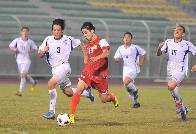 U19 Việt Nam vượt trội so với U19 Đài Loan