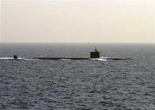 Tàu ngầm Mỹ là một trong những mối đe dọa lớn với Trung Quốc - Ảnh: Reuters