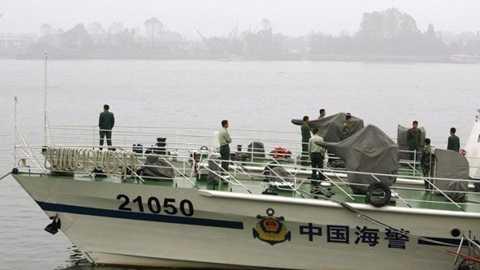 Tàu của cảnh sát biển Trung Quốc