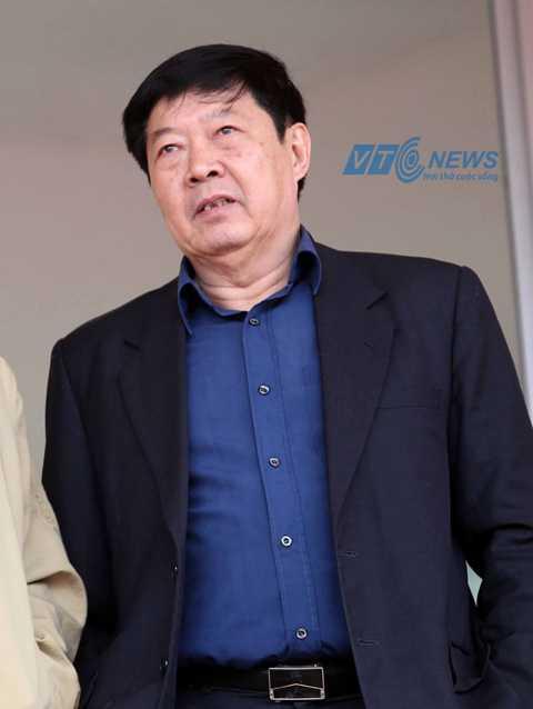 Trưởng Ban tổ chức giải V-League Trần Duy Ly (Ảnh: Quang Minh)