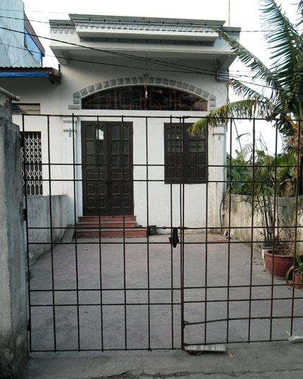 Căn nhà ở phường Bắc Sơn (Kiến An, Hải Phòng), nơi vợ chồng tên Đại ở