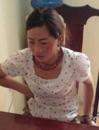 Giàng Thị Sua bị bắt cùng trùm Tàng khi vận chuyển số lượng ma túy khủng