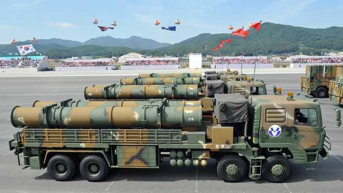 Tên lửa hành trình Hyunmoo-3 của quân đội Hàn Quốc
