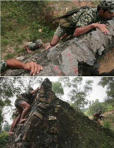 Huấn luyện chiến đấu của chiến sĩ đặc công