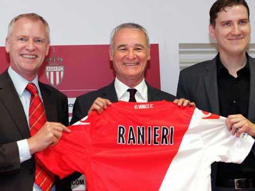 Ranieri- kiến trúc sư cho tấm vé thăng hạng của Monaco