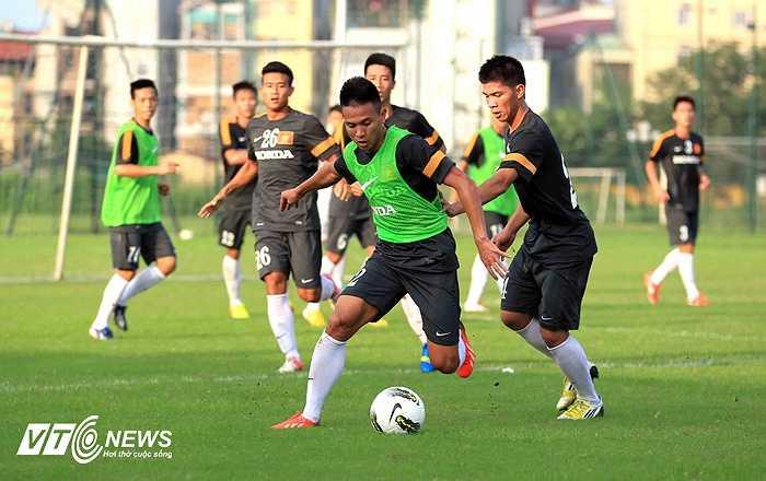 U23 VN chuẩn bị lên đường đi tập huấn tại Hungary (Ảnh: Quang Minh)