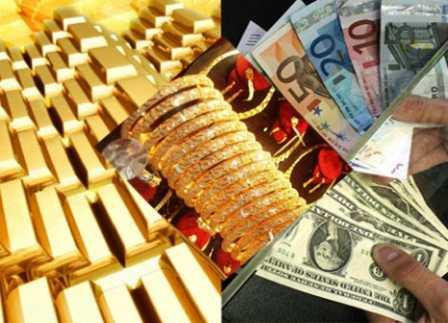 Vàng lại đắt, đô la ngân hàng lại nóng