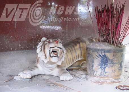 Hổ dữ được người dân thờ như thần linh ở đỉnh đèo Tam Điệp