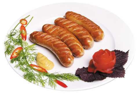 Sản phẩm xúc xích nướng của Đức Việt