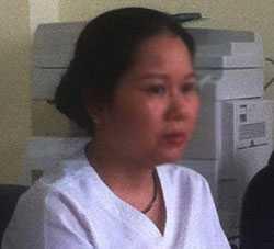 Y tá Bùi Thị Phương Hoa