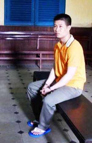 Bị cáo Hoàng Huy Quý