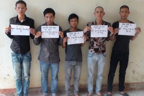 5 trong 6 bị can bị xét xử.