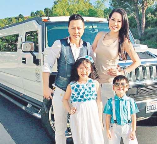 Gia đình hạnh phúc hiện tại của Tử Đan và Thi Thi.