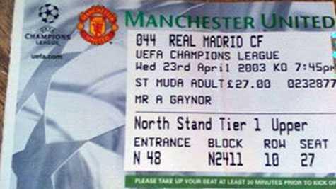 Giá vé chợ đen của trận đấu này lên tới 1000 bảng