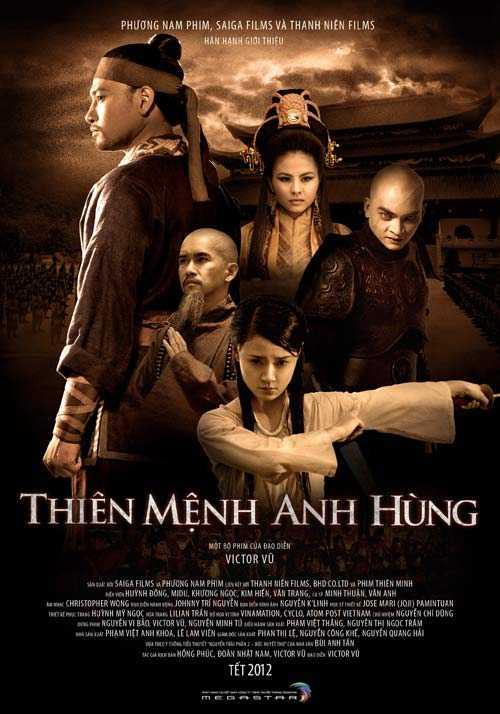 Cánh diều 2012 chứng kiến sự lên ngôi của bộ phim Thiên mệnh anh hùng, phim giành Cánh diều vàng ở hầu hết các hạng mục giải thưởng quan trọng.