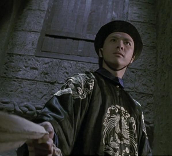 Nam diễn viên trẻ Chân Tử Đan trong phim Hoàng Phi Hồng.