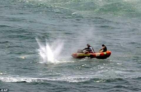 Hiện trường nơi con cá mập tấn công người khách du lịch