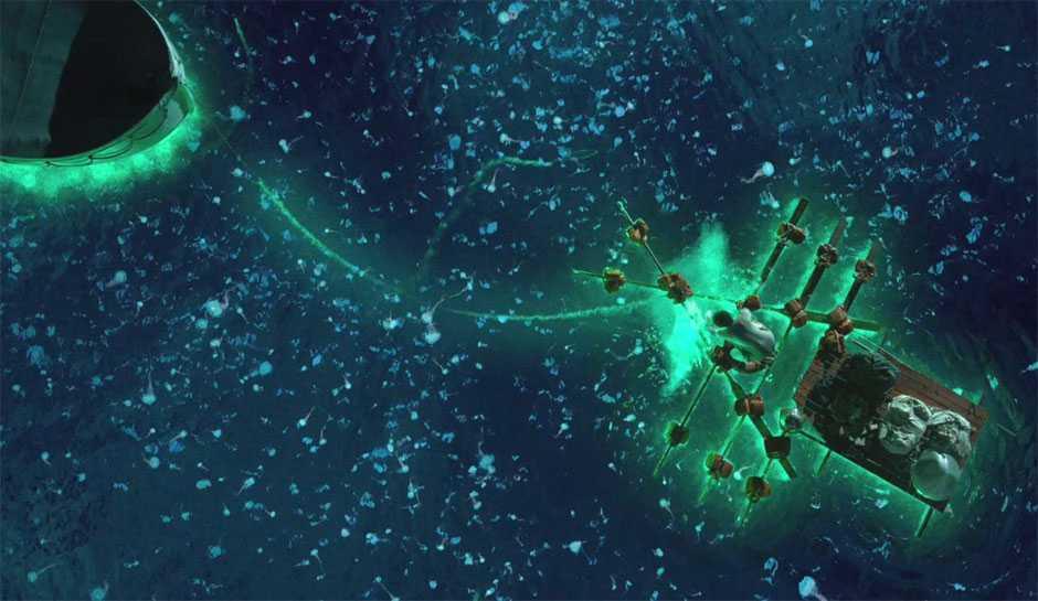 Kĩ xảo 3D là một trong những yếu tố khiến Life of Pi gây ấn tượng mạnh với khán giả.