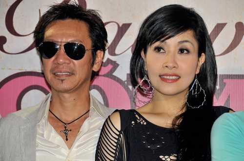 Vợ chồng Kiều Oanh - Lê Huỳnh.