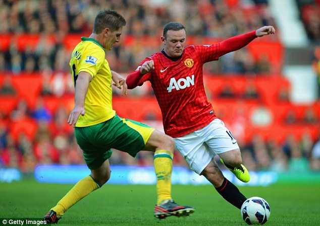 Rooney cùng Kagawa liên thủ vô cùng lợi hại