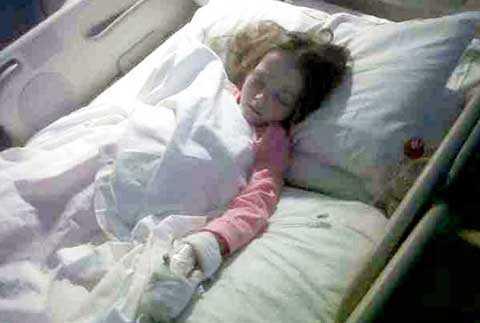 Chỉ có 5% trẻ em mắc phải chứng bệnh của người lớn như Ellie