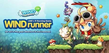 WIND Runner – game hành động đầu tiên của LINE tại Việt Nam