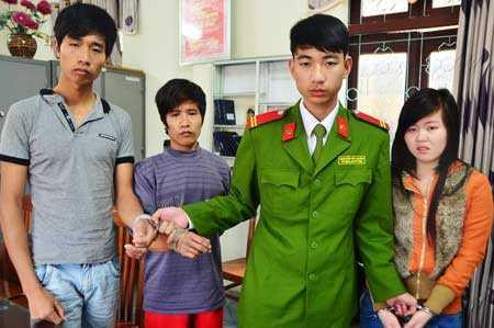 Ba đối tượng buôn người: Pháp, Việt, Dung