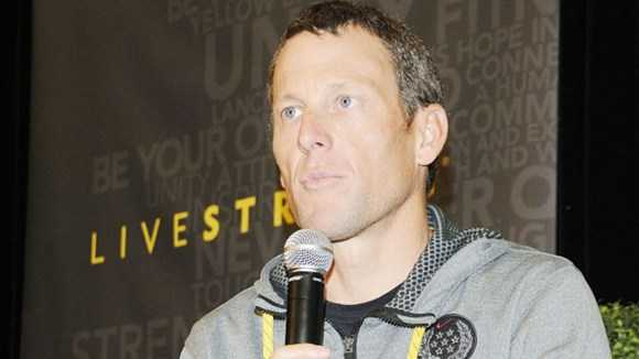 Tay đua Lance Armstrong