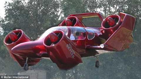 Chiếc ô tô bay này có khả năng chở 4 người, bay tối đa hơn 480 km/h