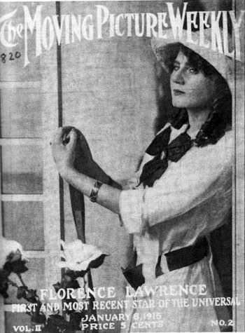 Florence Lawrence, nữ diễn viên đã phát minh ra đèn xi nhan.