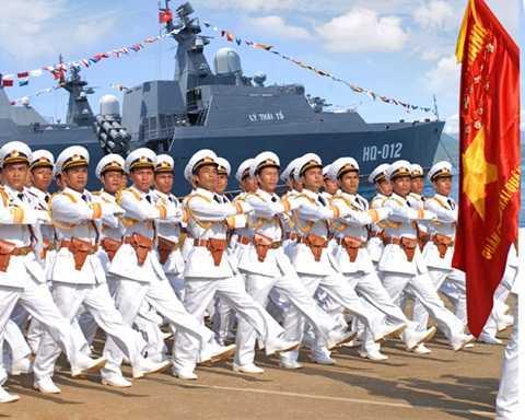 Hải quân nhân dân Việt Nam - Ảnh: TTXVN