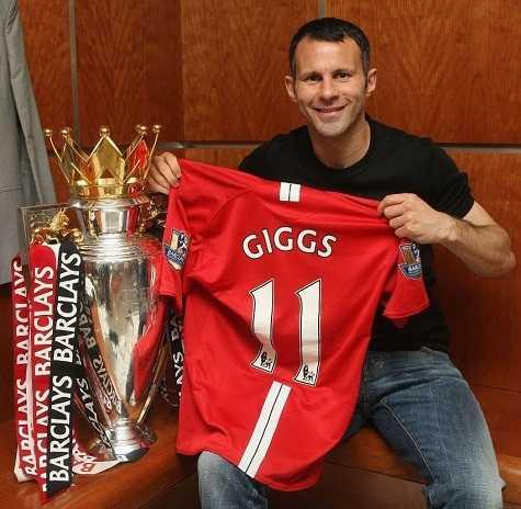 Ryan Giggs - tượng đài bất tử của sân Old Trafford