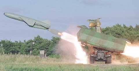 4K51 Rubezh (SS-C-3) phóng tên lửa tốc độ cận âm P-15 Temit (P-15M/SS-N-2 styx)