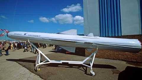 Tên lửa đối hạm siêu thanh P-800 Yakhont