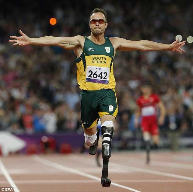 Người không chân Oscar Pistorius
