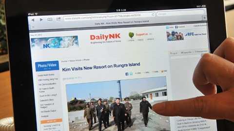 Truy cập Internet ở Triều Tiên - Ảnh: AFP