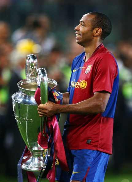 Henry ra đi vì tiếng gọi của Champions League