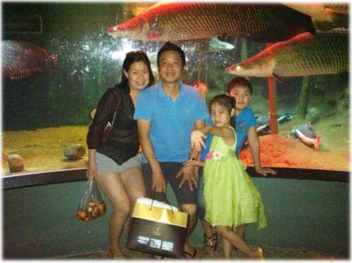 Gia đình nhỏ của Hồng Sơn