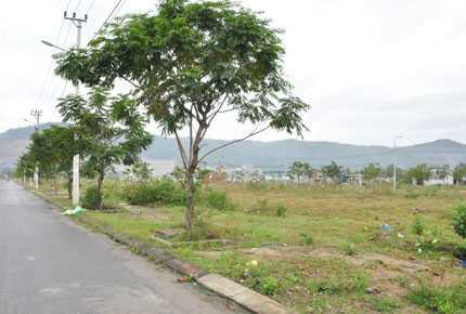 Một góc khu dân cư quận Liên Chiểu do Công ty cổ phần dây cáp điện Tân Cường Thành làm chủ đầu tư và đang nợ sổ đỏ khách hàng
